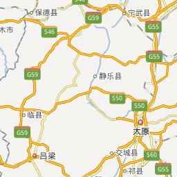 山西地图_山西电子地图_山西旅游地图_米胖